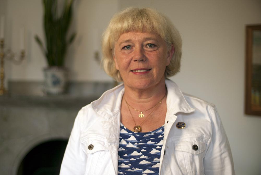 Ami Hommel, ordförande i Svensk Sjuksköterskeförening. Foto: Jonas Hermansson