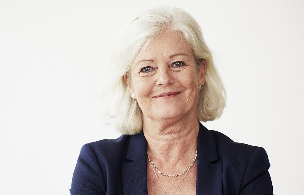 Ann Johansson, vice ordförande för Vårdförbundet. Foto:Dan Lepp