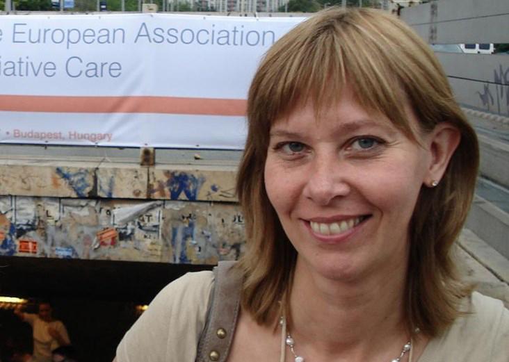 Christine Karlsson, ordförande i Sjuksköterskor för palliativ omvårdnad.