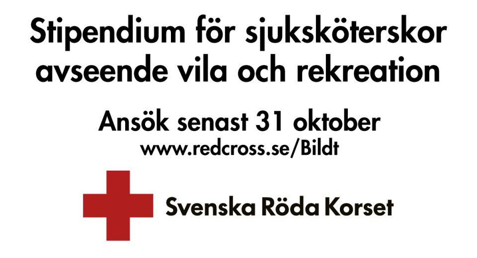Röda korset annons
